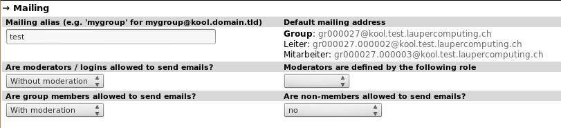 kOOL - the church tool: Mailing
